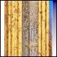 Cornici -  - Clc Italica Paparella in oro liscio gola avorio macchiettato.
