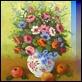 Dipinti ad Olio - Adolfo Mastrovito - Vaso con fiori