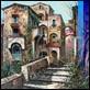 Dipinti ad Olio -  - Borgo antico
