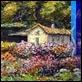 Dipinti ad Olio -  - Casa sul lago
