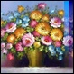 Dipinti ad Olio -  - Composizione floreale