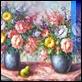 Dipinti ad Olio -  - Vasi con fiori