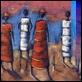 Dipinti ad Olio -  - Figure etniche