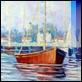Dipinti ad Olio -  - Paesaggio marino