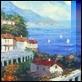 Dipinti ad Olio -  - Vista sul mare