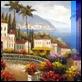 Dipinti ad Olio -  - Paesaggio ligure