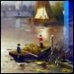 Dipinti ad Olio -  - Pescatori