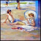 Dipinti ad Olio -  - Al mare