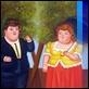 Dipinti ad Olio -  - Donna con l'ombrellino