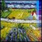 """Dipinti ad Olio -  - Tratto da Van Gogh """"Campo"""""""