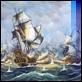 Dipinti ad Olio -  - Battaglia navale