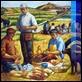 Dipinti ad Olio -  - Colazione dei contadini