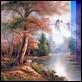 Dipinti ad Olio -  - Paesaggio invernale