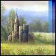 Dipinti ad Olio -  - Il castello