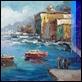 Dipinti ad Olio -  - Il molo