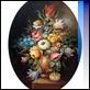 Dipinti ad Olio - Cicas - Vaso con fiori