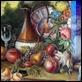 Dipinti ad Olio - Cicas - Natura Morta