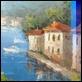 Dipinti ad Olio -  - Terrazza sul mare