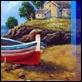 Dipinti ad Olio -  - Barca in secca