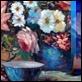 """Dipinti ad Olio -  - Luigi Cursore """"Vasi con fiori"""""""