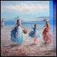 Dipinti ad Olio -  - In riva al mare