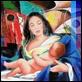 Grafica di Autore - Ezio Farinelli - Maternità II