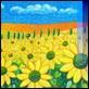 Grafica di Autore - Mimmo Sciarrano - Le colline dei girasoli