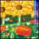Grafica di Autore - Mimmo Sciarrano - Papaveri e girasoli