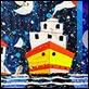 Grafica di Autore - Francesco Musante - Ladro di lune sul golfo