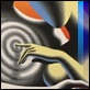 "Grafica di Autore - Mark Kostabi - ""The soul within the soul"""