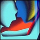 Grafica di Autore - Mark Kostabi - Twilight embrace