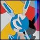 Grafica di Autore - Ugo Nespolo - Inflattable Jeff