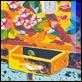 Grafica di Autore - Athos Faccincani - Tavolo con vaso di fiori