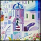 Grafica di Autore - Athos Faccincani - Un sogno di luce intorno a Santorini