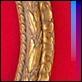 Specchiere -  - 261388 Ovale oro lavorato