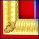 Specchiere -  - Art. 072 Oro con foglie
